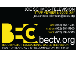 Bloomington Educational Cable Television